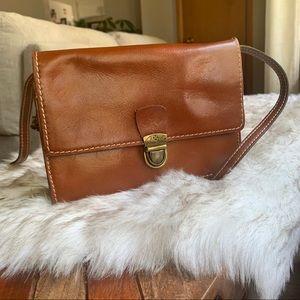 Patricia Nash Cognac Leather Crossbody